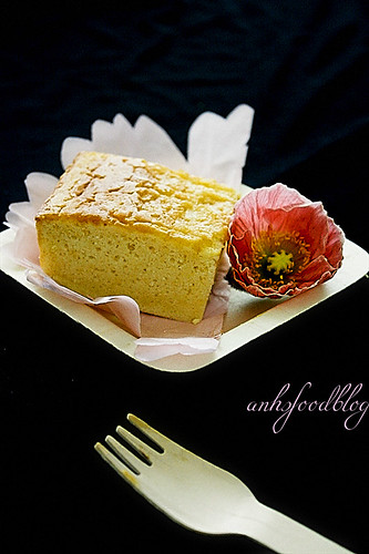 Cream cheese castella