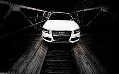 APR B8 S4 on the Bridge