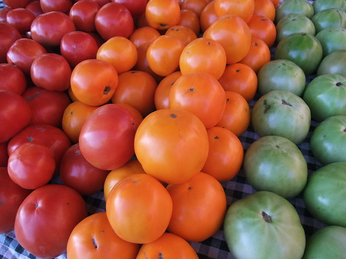 Tomatoes from Wishwell Farms