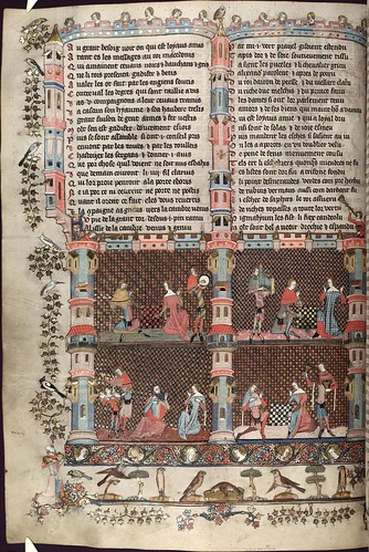 The Romance of Alexander 127v MS. Bodl. 264