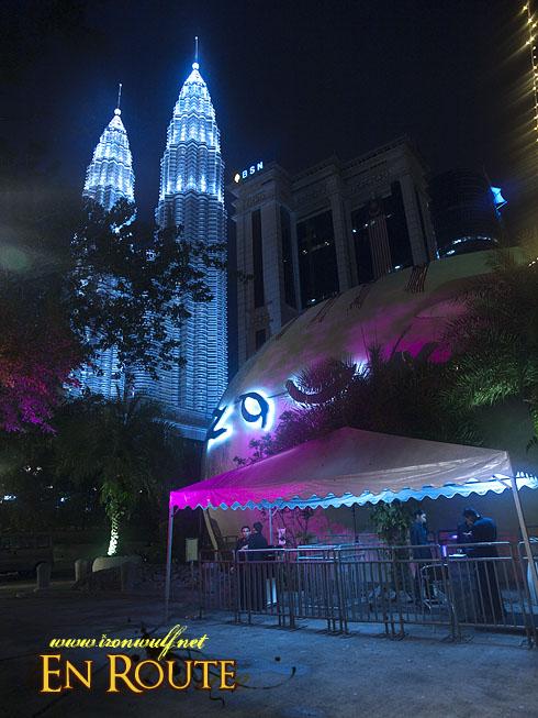 Zouk Entrance and Petronas