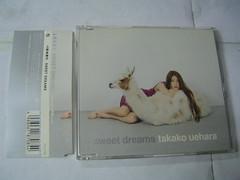 原裝絕版 2001年4月18日SPEED上原多香子SWEET DREAMS CD 原價 1260YEN 中古品