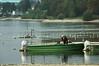Fischer im Fischerboot