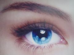 Eye Has It (ToGa Wanderings) Tags: blue woman eye billboard hong kong