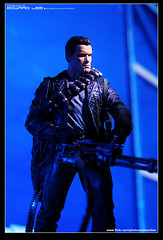 T-800_Cyberdyne Showdown (EdwardLee's collection) Tags: 2 movie toy toys actionfigure day action arnold schwarzenegger collection figure terminator judgment t2 neca t800 endoskeleton 400d edwardlees