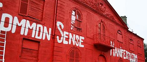 I see a red door........................(banksycastle.jpg)