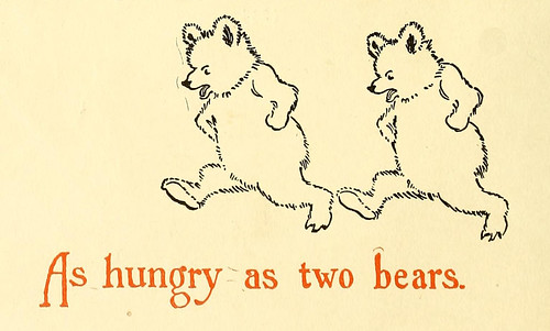 As hungry as two bears.