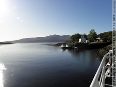 Leaving Lochaline