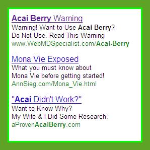scam ads