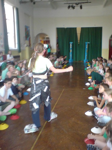 The school hold a eco fashion show last year