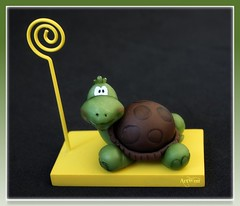 Porta foto tortuga / Portafoto tartaruga (ArtWen) Tags: picnik