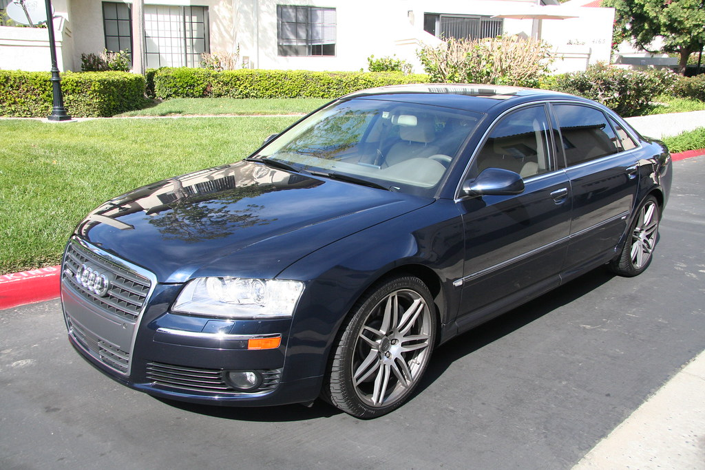 Concours Finish Detailed Audi A8