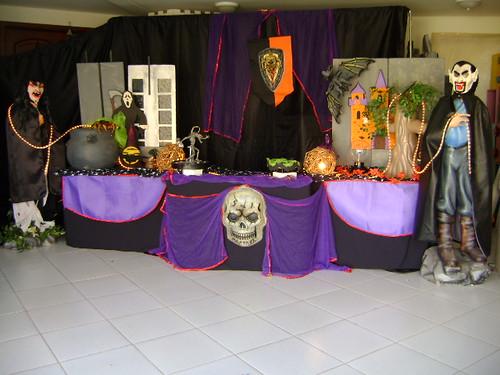 fotos decoração halloween