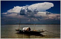 Cloud over Meghna (picazam) Tags: cloud water canon river boat angle mark wide photographers ii photowalk 17 5d 40 mm narayan bangladesh bazar bir meghna azam bangladeshi picazam gonj boidder
