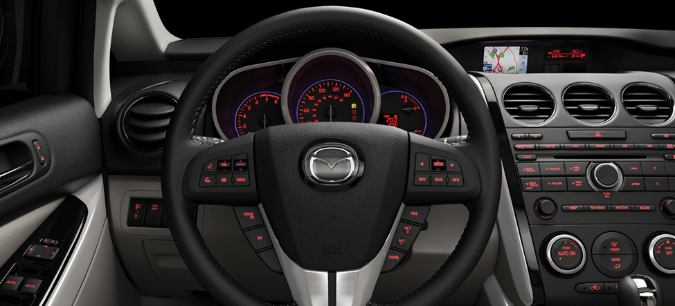 Mazda CX-7 Interior steering wheel