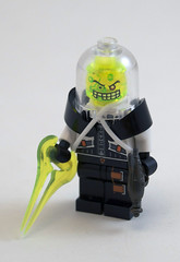Captain D. Zaster (Titolian) Tags: lego space evil doctor pirate disaster laser