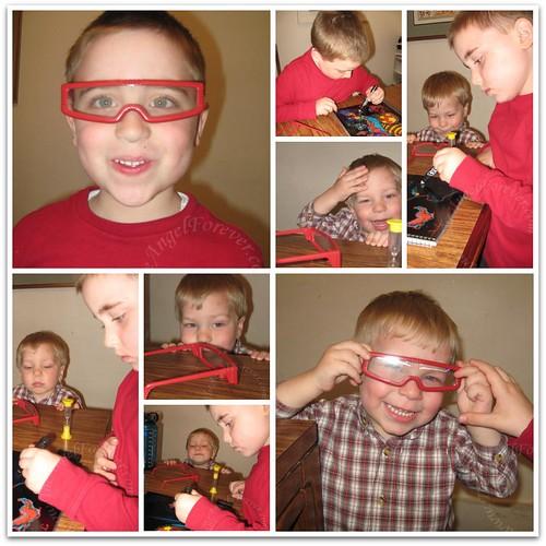 3-D Brotherly Fun