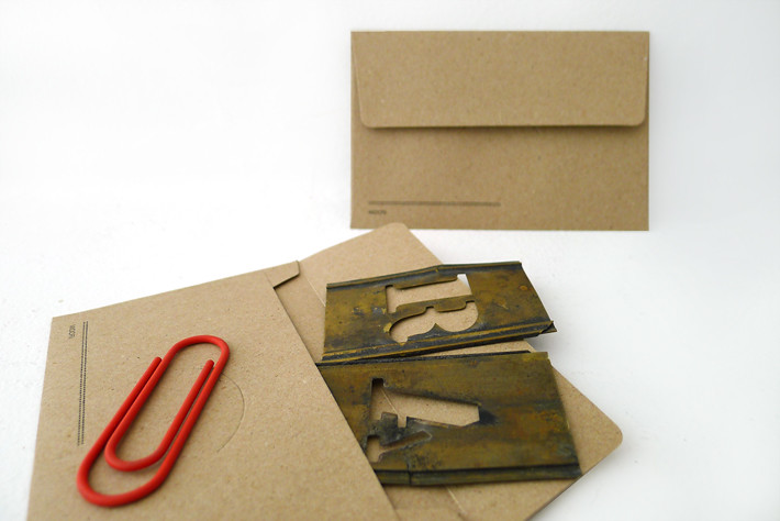 KRAFT envelopes (small/brown)