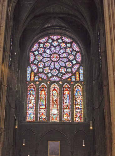Rose Window Chartres Cathedral (N)