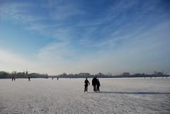 Ice Skating @ Kralingse Plas, Rotterdam (Robert Zijlstra) Tags: winter rotterdam iceskating schaatsen kralingseplas
