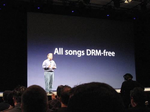 iTunes canciones sin DRM