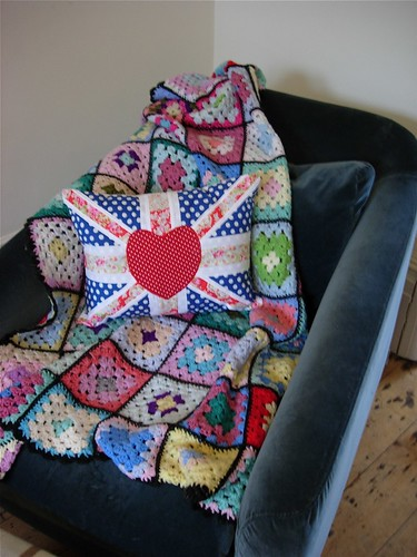 Crochet Pattern Union Jack : Crochet Union Jack