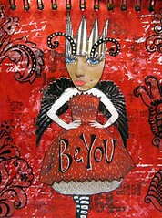 Be You (belinda.schneider) Tags: collage mixedmedia journal