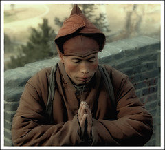 Pray (d.teil) Tags: china street travel portrait people urban mountain church face berg closeup square polaroid temple asia 5 five framed buddha buddhist pray north streetphotography monk buddhism unesco berge holy tai frame shan wu soe chin squared nationalgeographic heilig wutaishan otw fanstastic theworldthroughmyeyes photographyrocks anawesomeshot colorphotoaward aplusphoto mycameraneverlies dteil superlativas heartawardgroup dazzlingshots theicegallery fundamentalfantastic multimegashot rubyphotographer 469photographer goldenheartaward dragonflyawards oohlalapicture flickraward