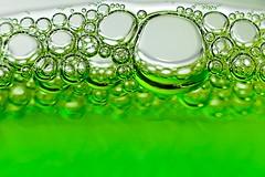 Back to the Bubble (edouardv66) Tags: world color macro green 50mm switzerland nikon suisse geneva bubbles experimentation nikkor imaginary genve liquid liquide imaginaire strobist d700 flickraward sb900