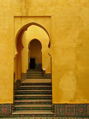 Doorway-Meknes-Morocco-Africa (mikemellinger) Tags: africa door architecture canon landscape scenery mosaic perspective doorway morocco meknes sx10 sx10is