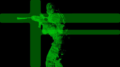 ps3 background gif. COD4 PS3 Wallpaper Green Glow