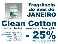 Janeiro -25% Clean Cotton