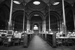 The old reading room of the Bibliotheque de France (milliped) Tags: bnf readingroom bibliothquenationaledefrance richelieu