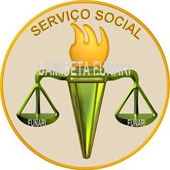 simbolo logo servico social desenho 3D
