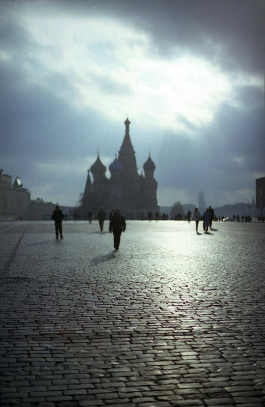 Pure Morning. Red Square