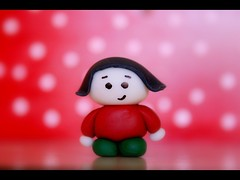 My little chubby Amelie (Honey Pie!) Tags: red verde green toy brinquedo vermelho explore biscuit polkadots bolinhas ameliepoulain toyland poulain amliepoulain toyart explored tomymom paraminhame mylittlechubbyamlie