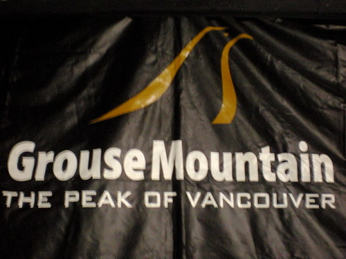 This event is proudly brought to you by Grouse Mountain.