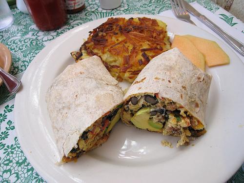 Juan Carlos Breakfast Burrito