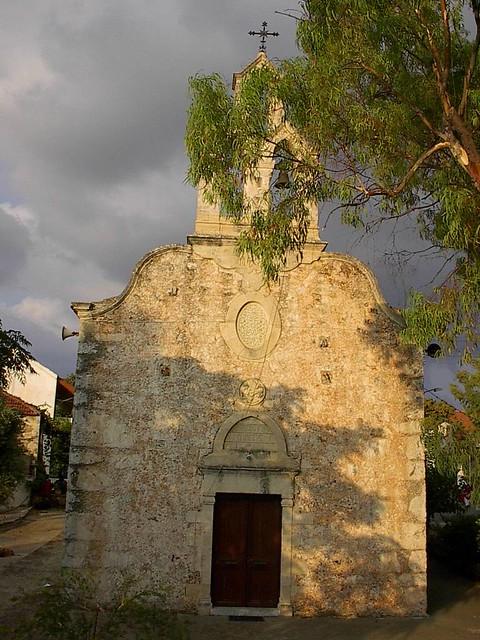 Κρήτη - Χανιά - Δήμος Βάμου Αγιος Αντώνιος (18αι.) στην πλατεία του Κεφαλά