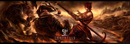 Immortals poster by Shawn Ye