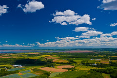Cloud shadow from the Look Off (Thatsanotherdory) Tags: blue summer clouds landscape novascotia 100v10f valley annapolisvalley d80 cans2s landscapesofvillagesandfields sensationalphoto
