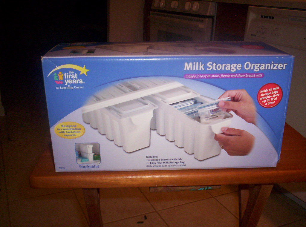 Breast Milk Storage Organizer - $8.00