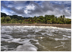 Waterview (fullimages) Tags: travel sky beach water costarica tropical hdr 1exp