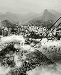 Pan de azucar II (Fernando Rey) Tags: city brazil brasil riodejaneiro clouds high ciudad nubes soe mirador teleferico pandeazucar añto