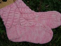 Pink Maelstroms aka Dualla Socks