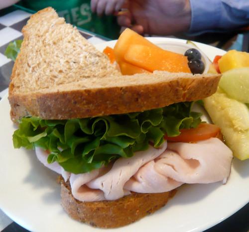 Turkey Sandwich at Gourmet Shop