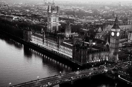 Parliament from Above