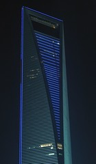 Shanghai - SWFC at Night (cnmark) Tags: world china building tower architecture modern skyscraper buildings geotagged noche shanghai nacht center explore noite tall   pudong grattacielo financial nuit  soe gebude notte nachtaufnahme tallest wolkenkratzer lujiazui rascacielo gratteciel swfc  arranhacu  explored allrightsreserved   centralgreenarea  geo:lat=31240953 geo:lon=121500726