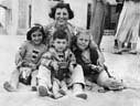 Children in Hermosa 1936 (Ron Felsing) Tags: 1936 hermosabeach 90254 fredmickaelianjr