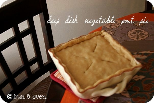 deep dish vegetable pot pie